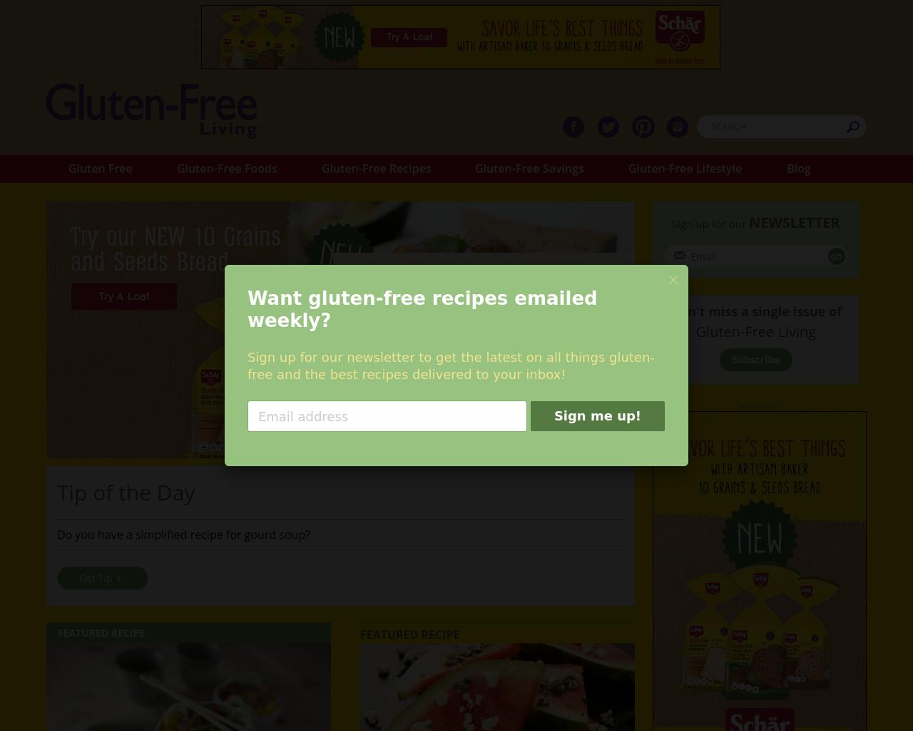 Gluten-Free-Living-Advertising-Reviews-Pricing