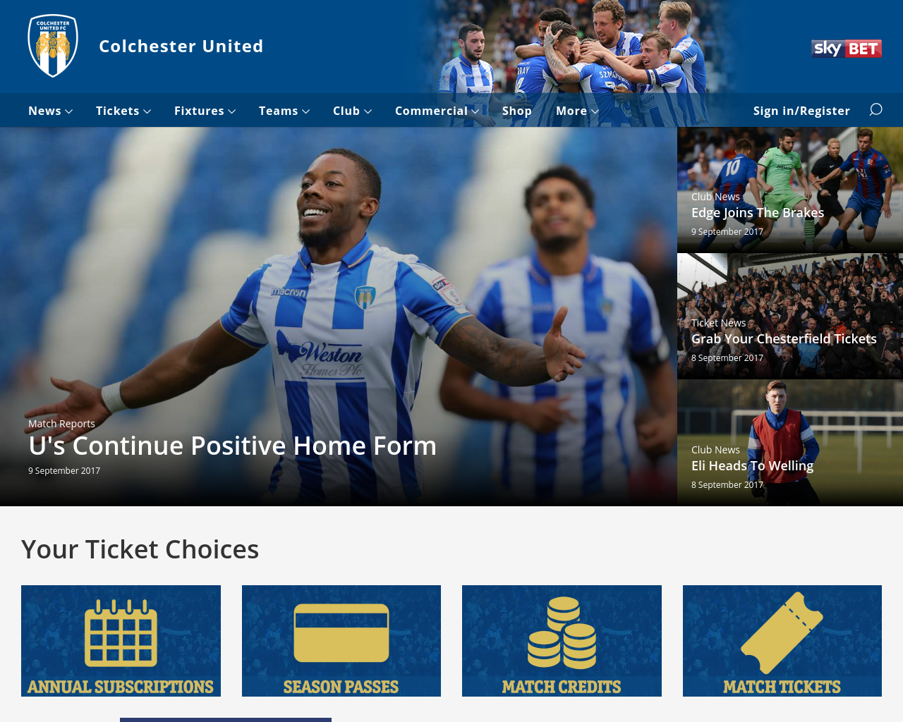 Colchester-United-FC-Advertising-Reviews-Pricing
