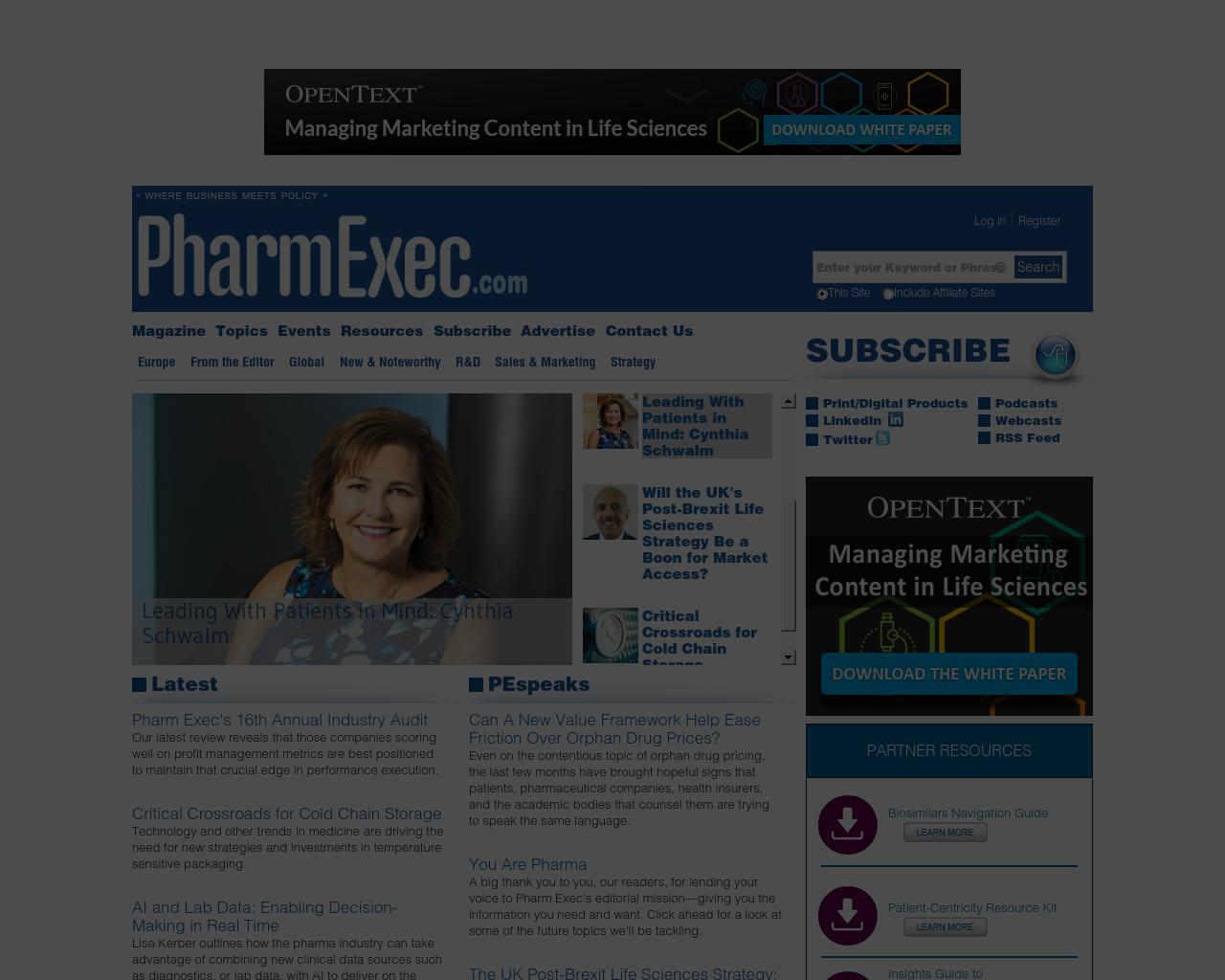 Pharmaceutical-Executive-Advertising-Reviews-Pricing