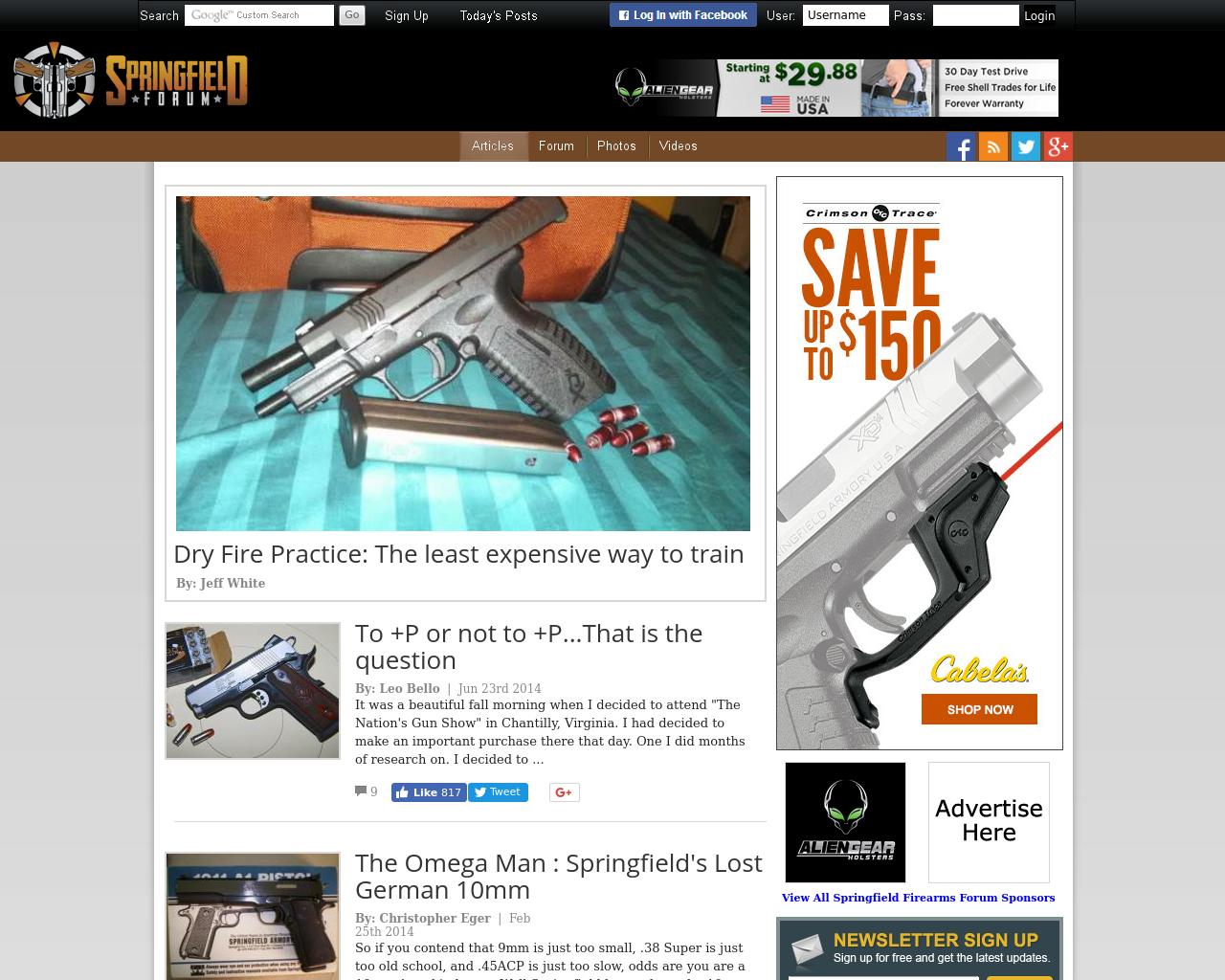 Springfield-Firearms-Forum-Advertising-Reviews-Pricing