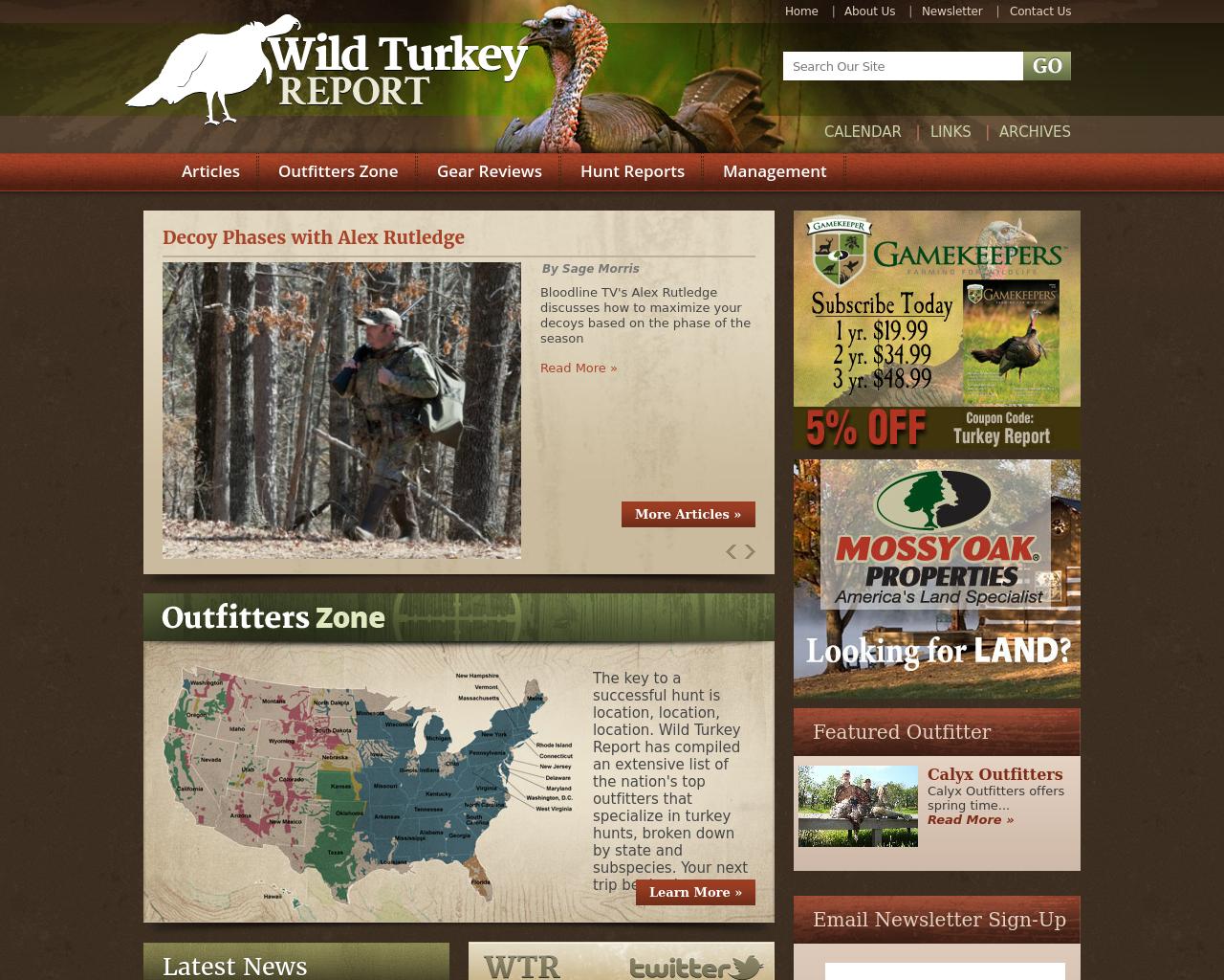WildTurkeyReport.com-Advertising-Reviews-Pricing