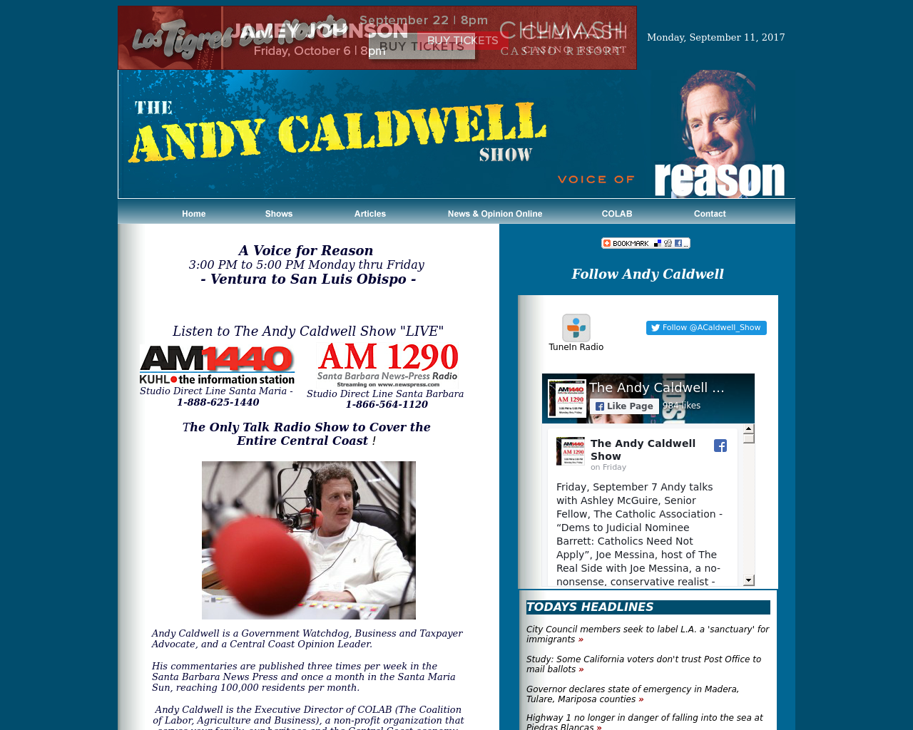 The-Andy-Caldwell-Show-Advertising-Reviews-Pricing