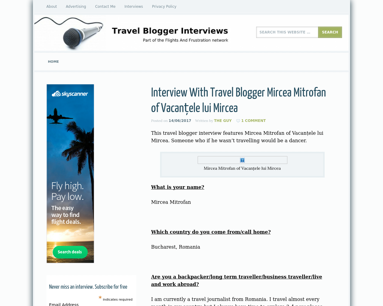 Travel-Blogger-Interviews-Advertising-Reviews-Pricing
