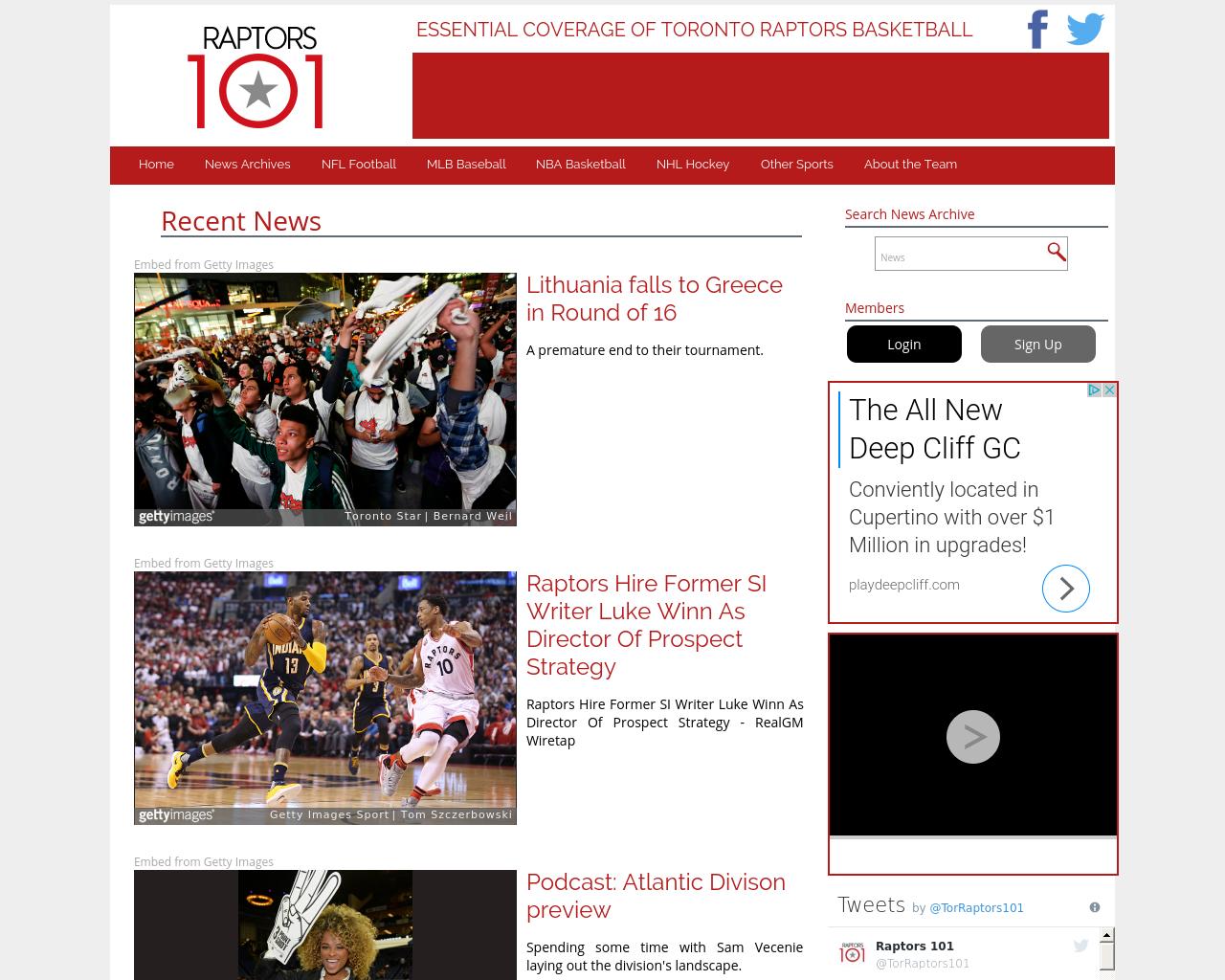 Raptors101.com-Advertising-Reviews-Pricing