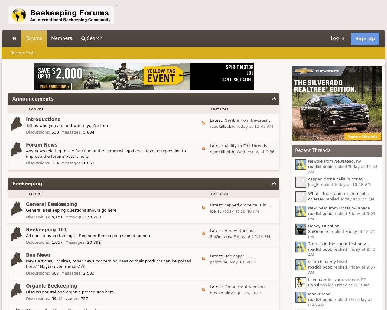 Beekeeping-Forums-Advertising-Reviews-Pricing