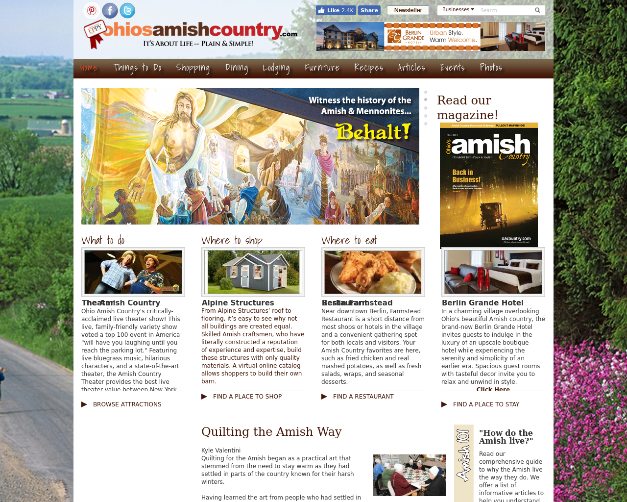 Ohio's-Amish-Country-Magazine-Advertising-Reviews-Pricing