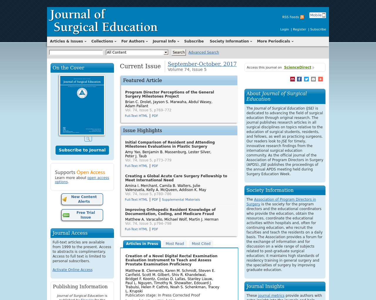 Journal-of-Surgical-Education-Advertising-Reviews-Pricing
