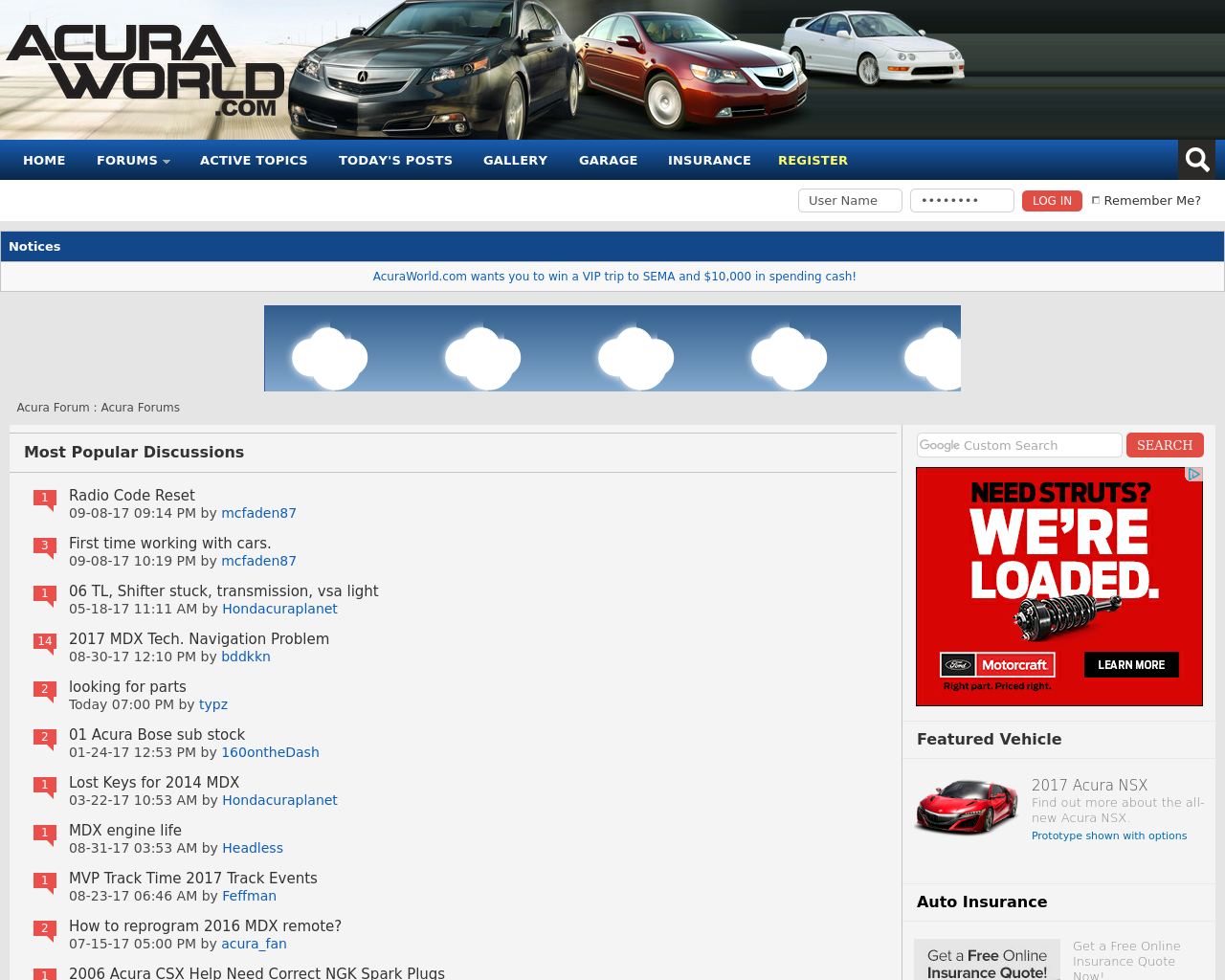 Acura-Forums-Advertising-Reviews-Pricing