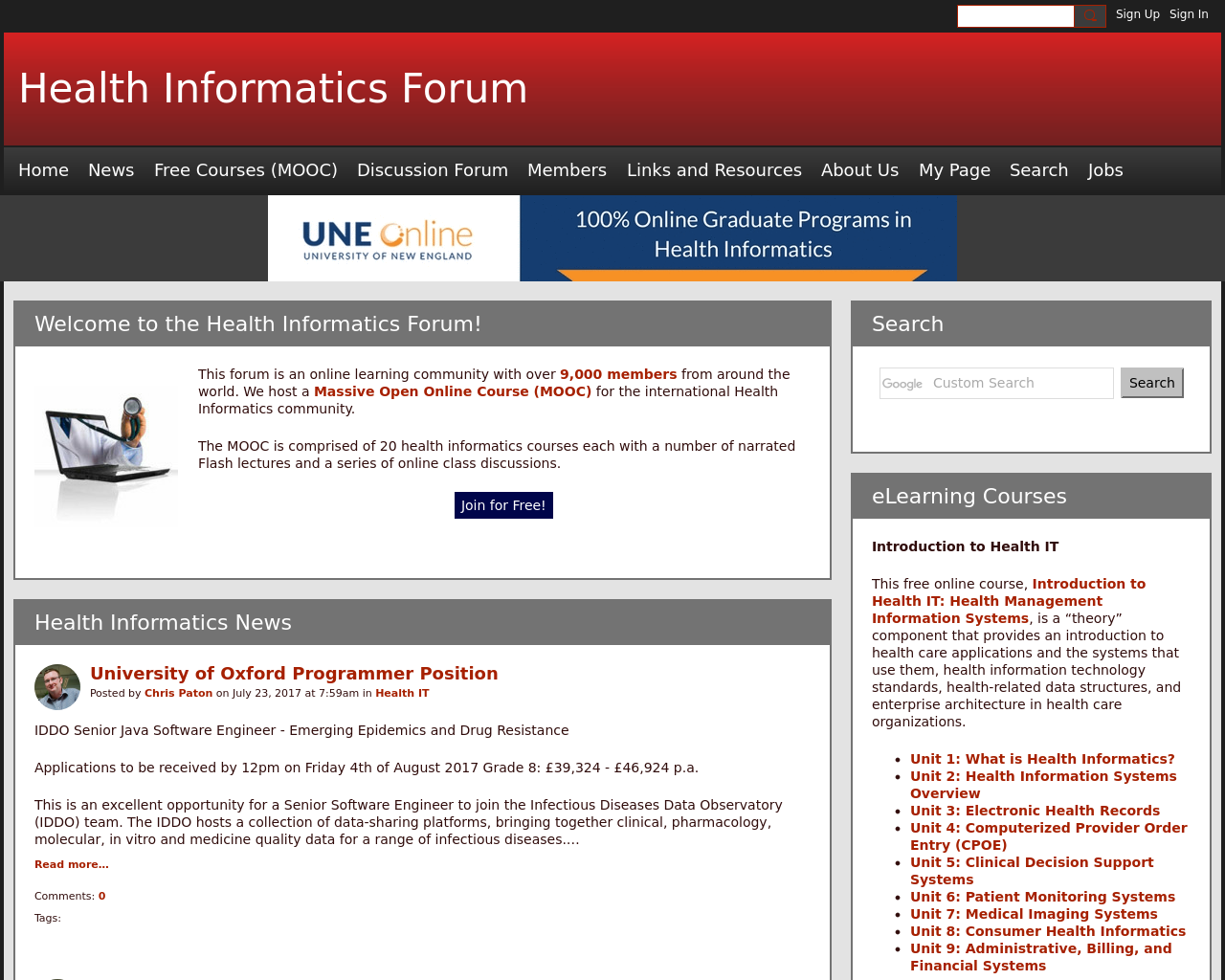 Health-Informatics-Forum-Advertising-Reviews-Pricing
