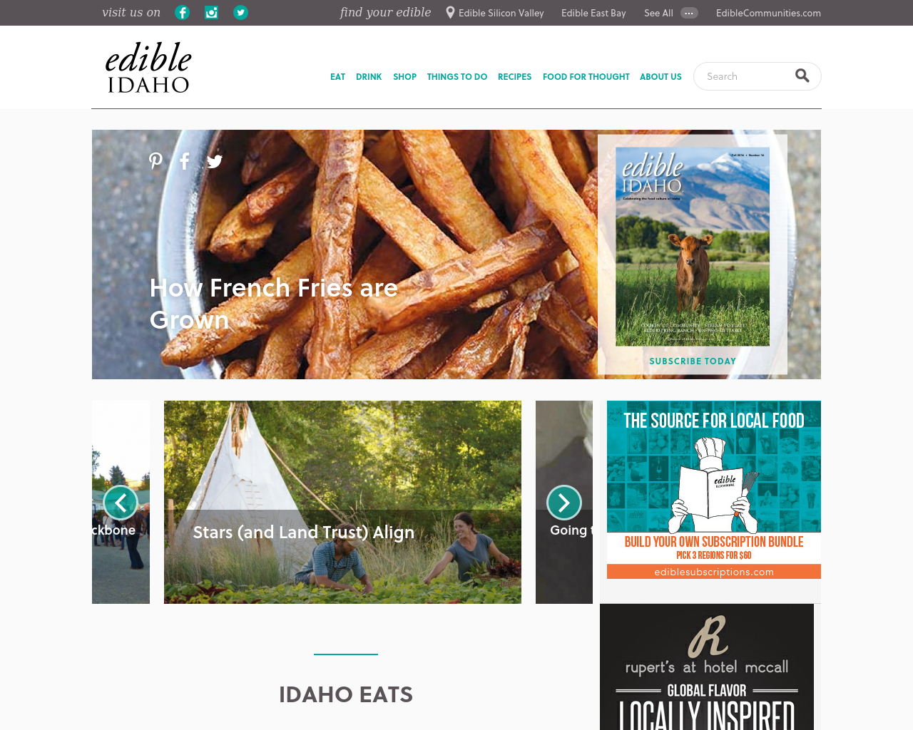 Edible-Idaho-South-Advertising-Reviews-Pricing