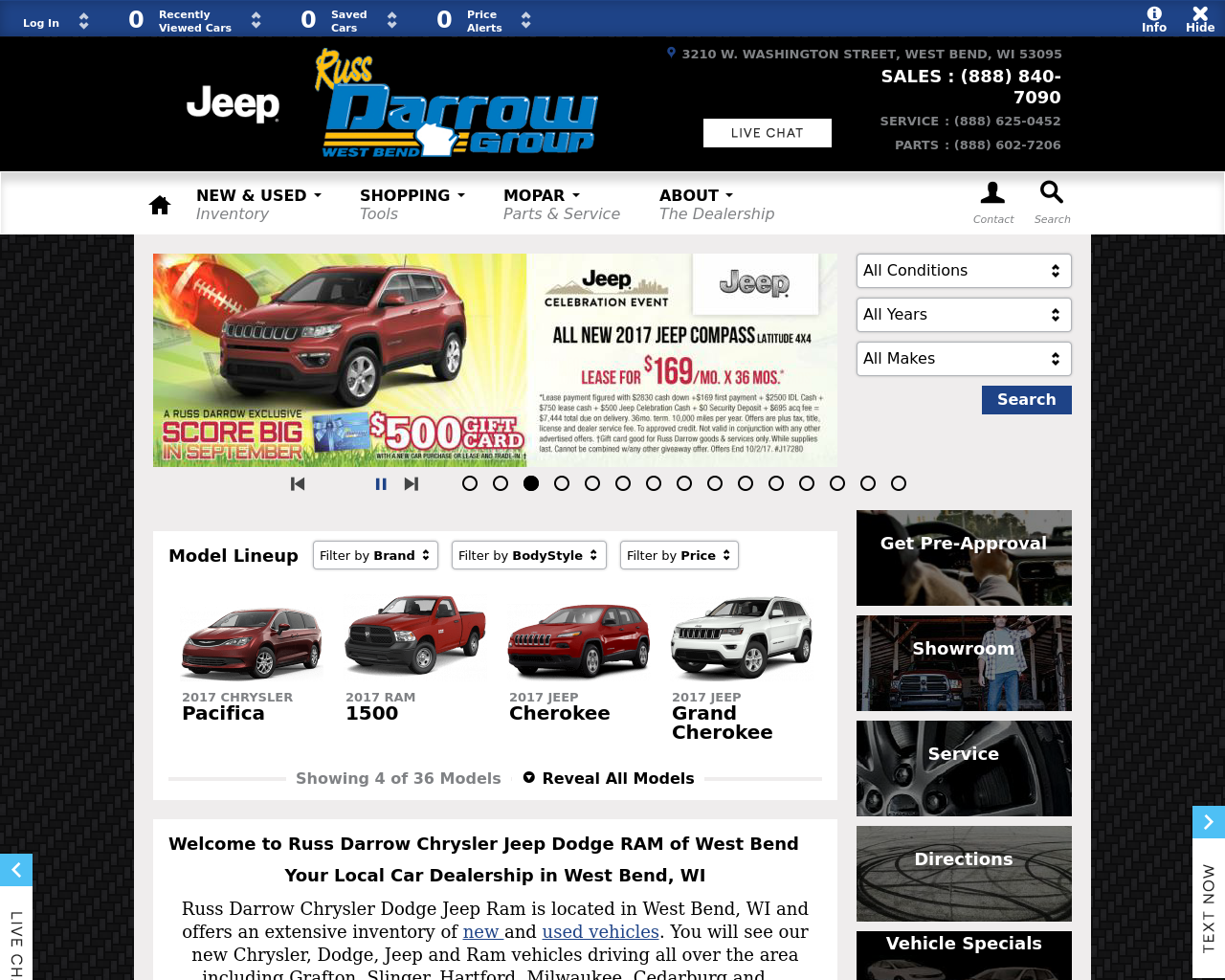 Russ-Darrow-Chrysler-Dodge-Jeep-RAM-Of-West-Bend-Advertising-Reviews-Pricing