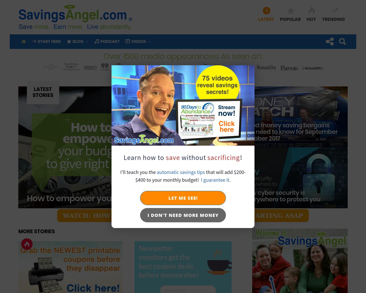 Savingsangel.com-Advertising-Reviews-Pricing
