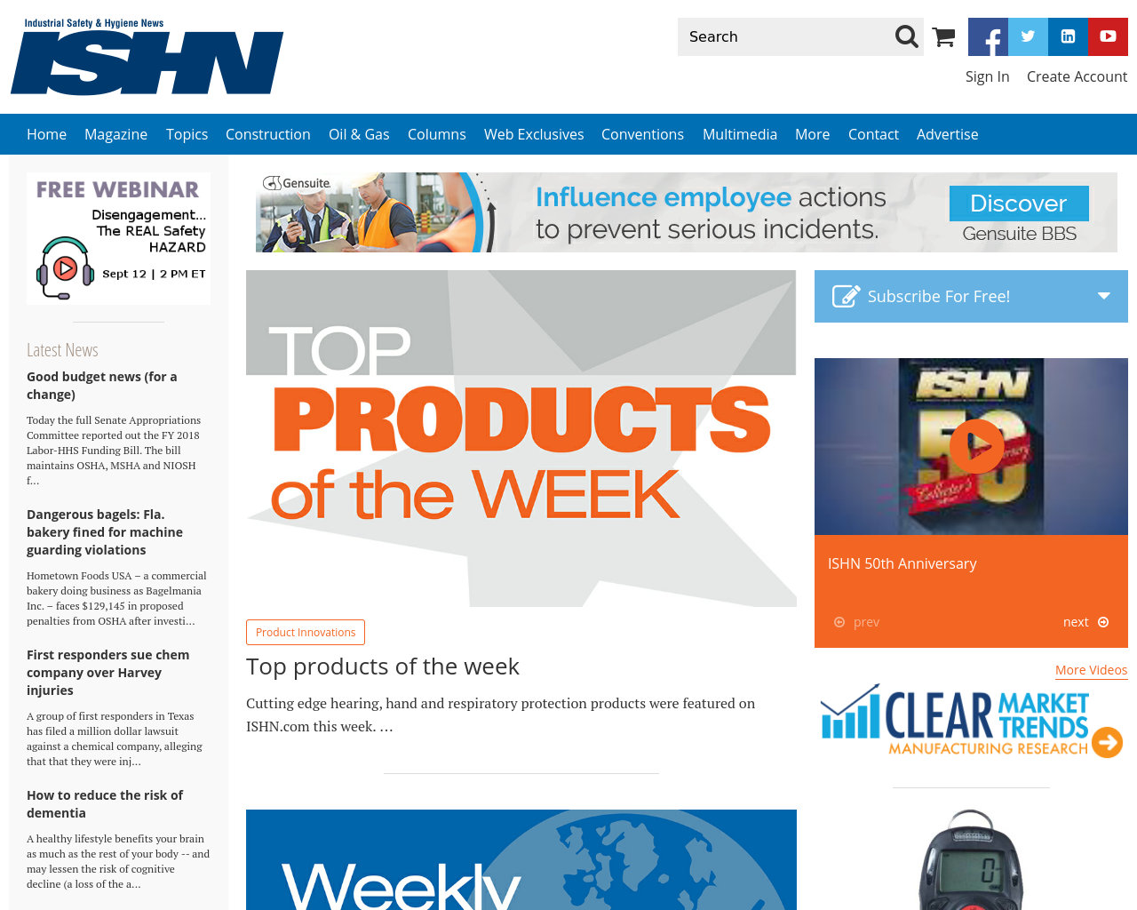 Industrial-Safety-&-Hygiene-News-(ISHN)-Advertising-Reviews-Pricing
