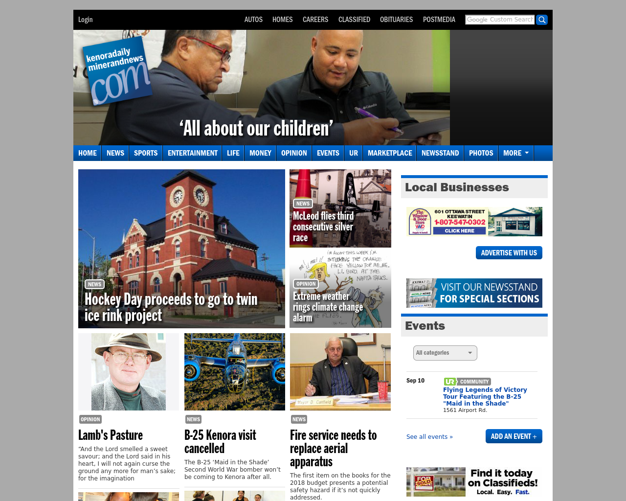 Kenora-Daily-Miner-And-News-Advertising-Reviews-Pricing