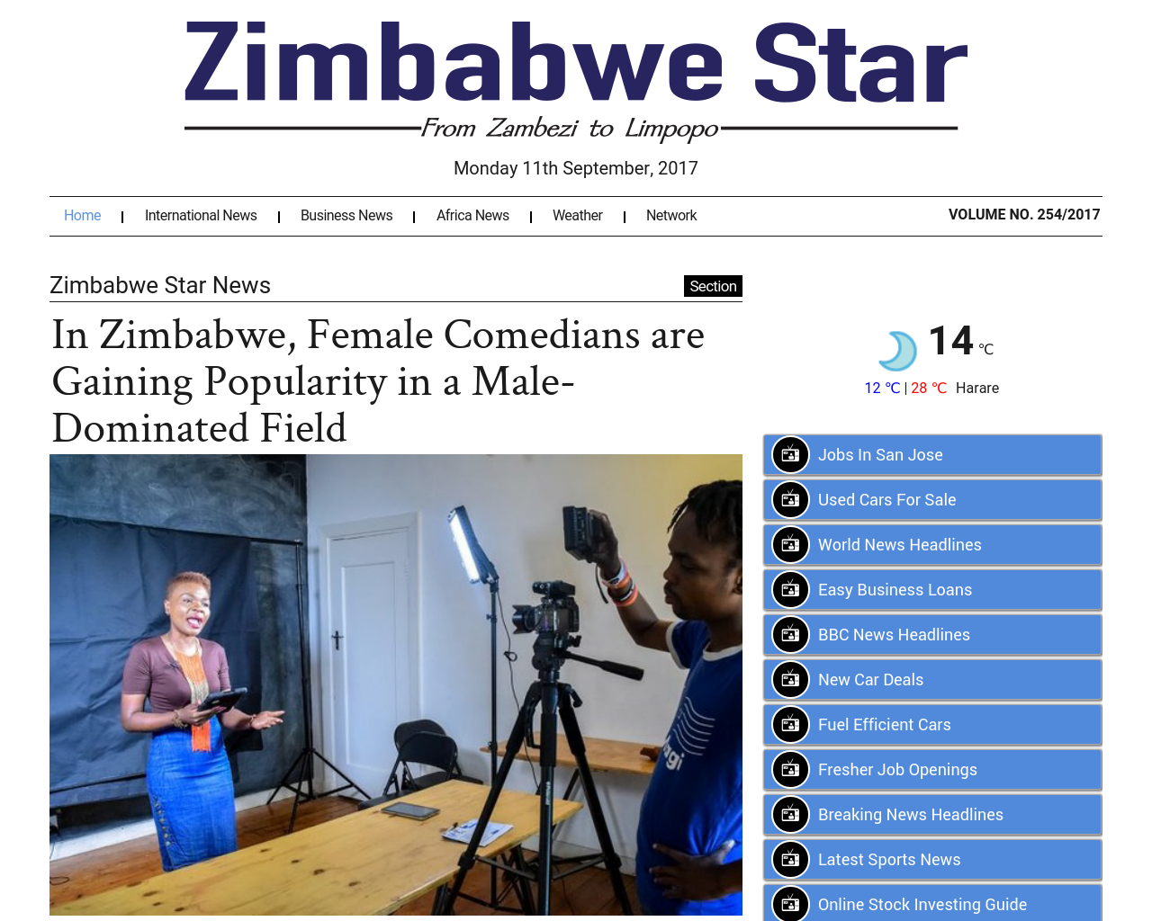 Zimbabwe-Star-Advertising-Reviews-Pricing