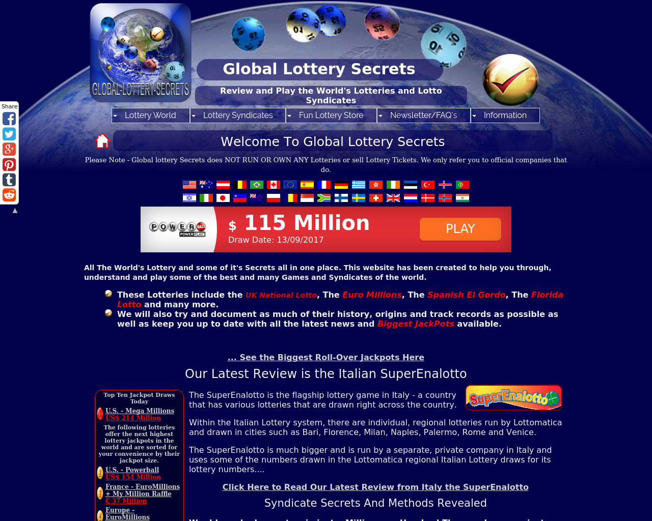 Global-lottery-secrets.com-Advertising-Reviews-Pricing