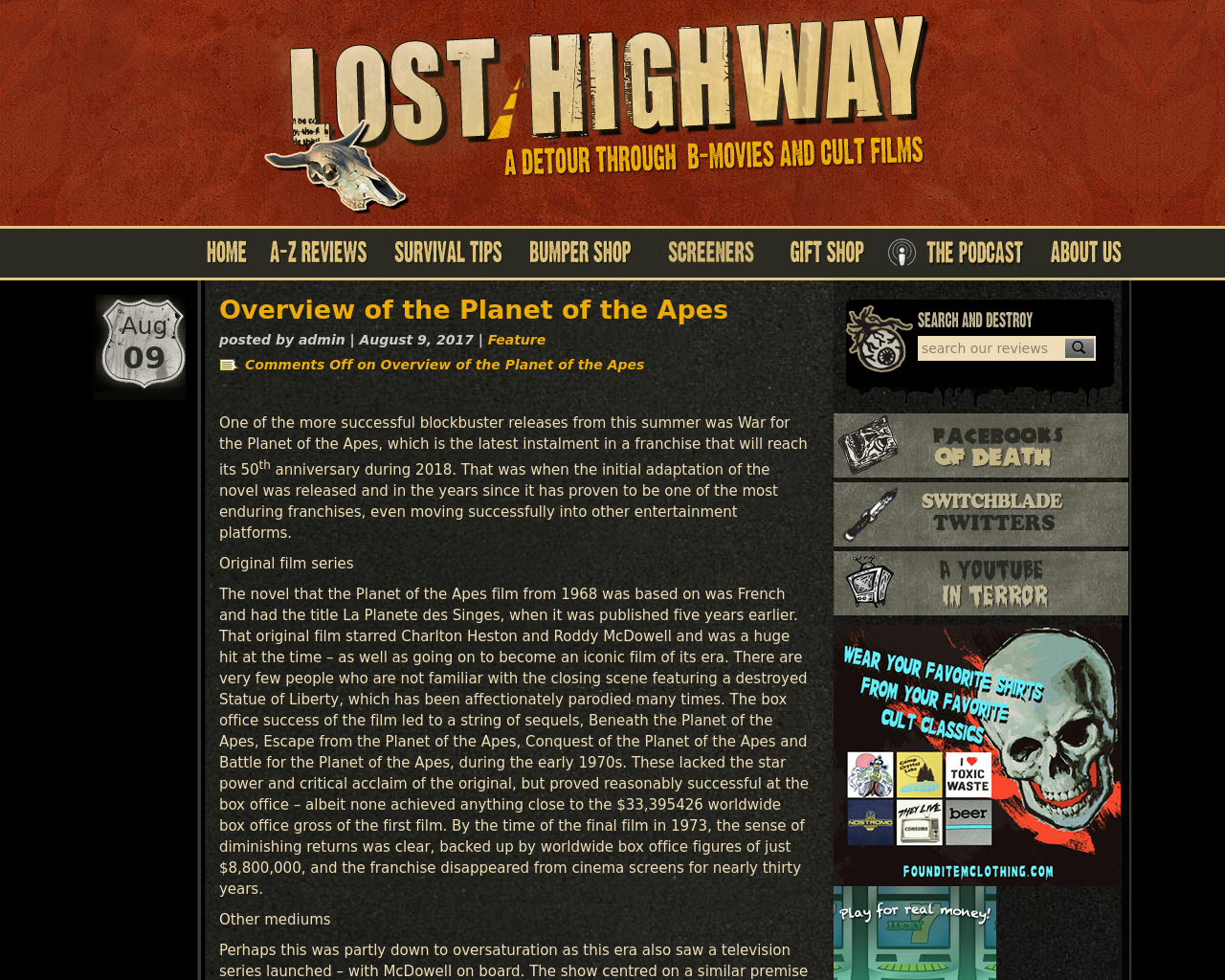 Lost-Highway-Advertising-Reviews-Pricing