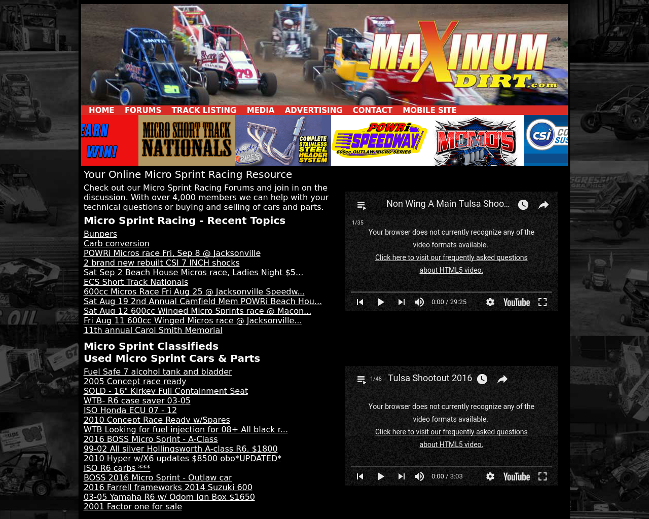 Maximumdirt.com-Advertising-Reviews-Pricing