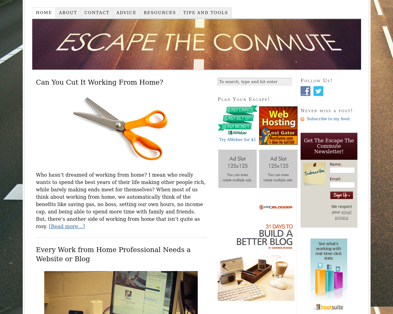 Escape-The-Commute-Advertising-Reviews-Pricing