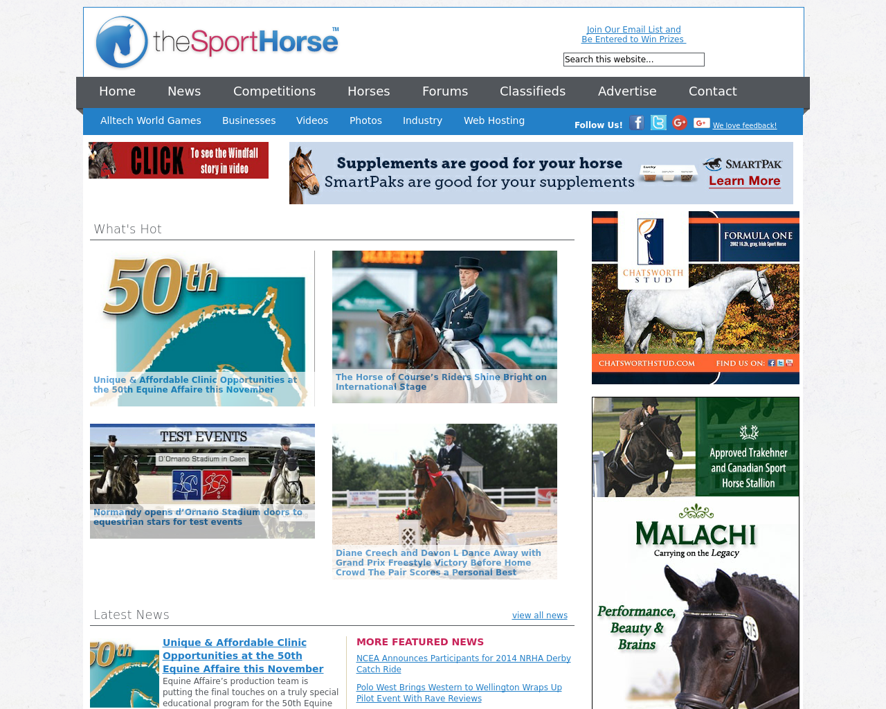 The-Sport-Horse-Advertising-Reviews-Pricing