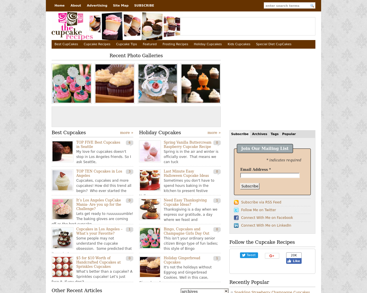 The-Cupcake-Recipes-Advertising-Reviews-Pricing