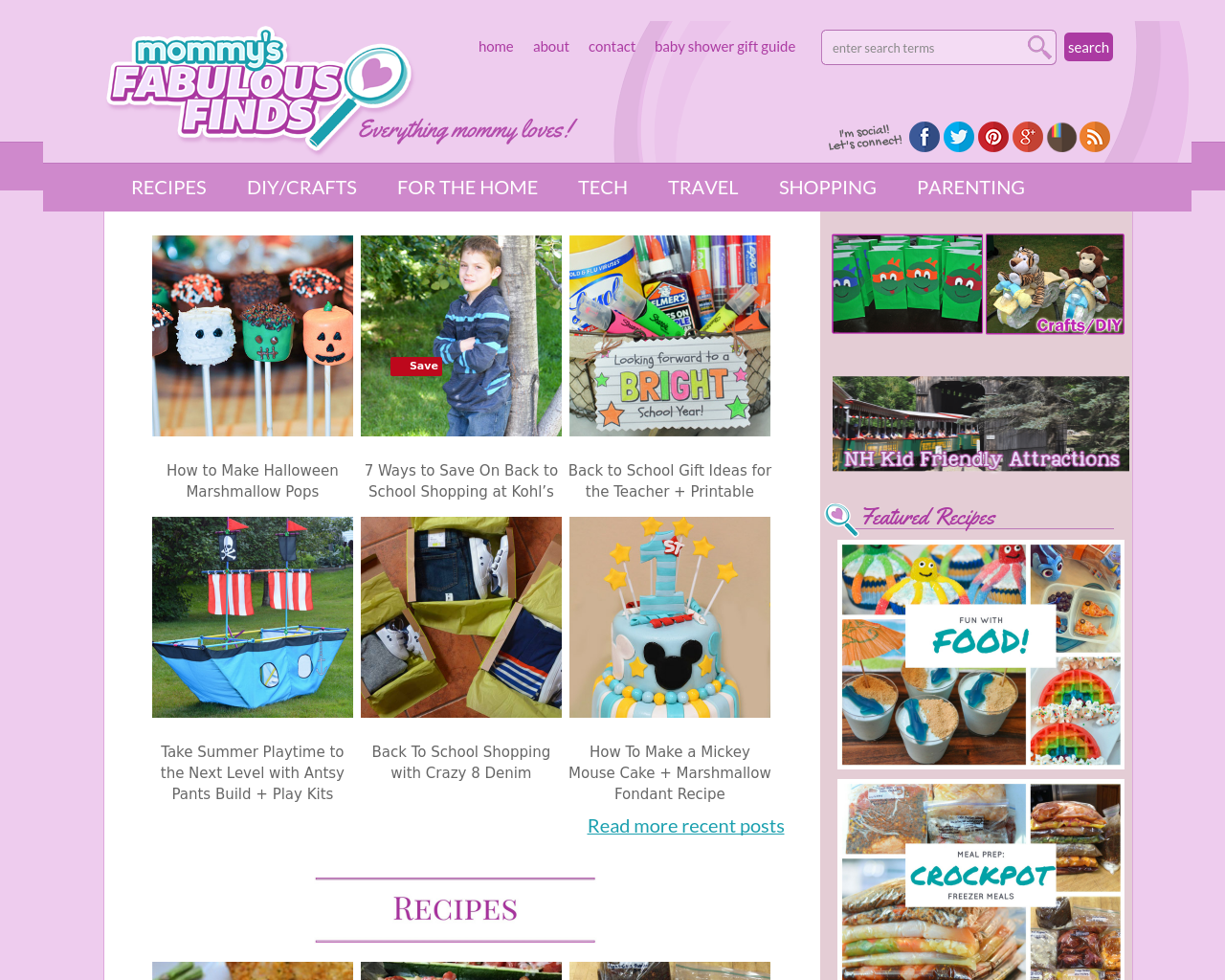 Mommy's-Fabulous-Finds-Advertising-Reviews-Pricing