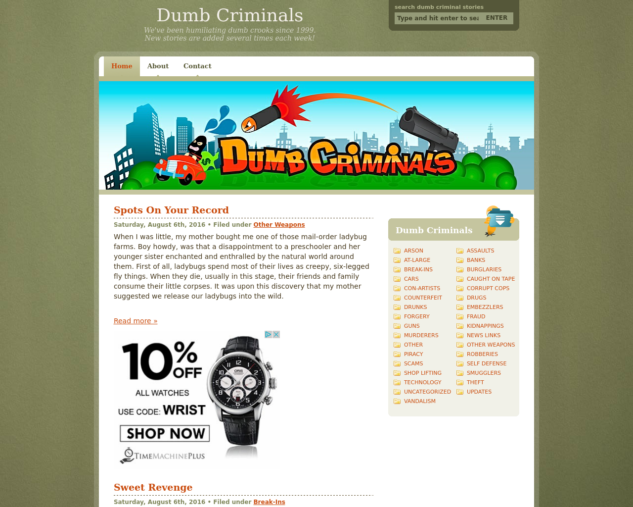 Dumb-Criminals-Advertising-Reviews-Pricing