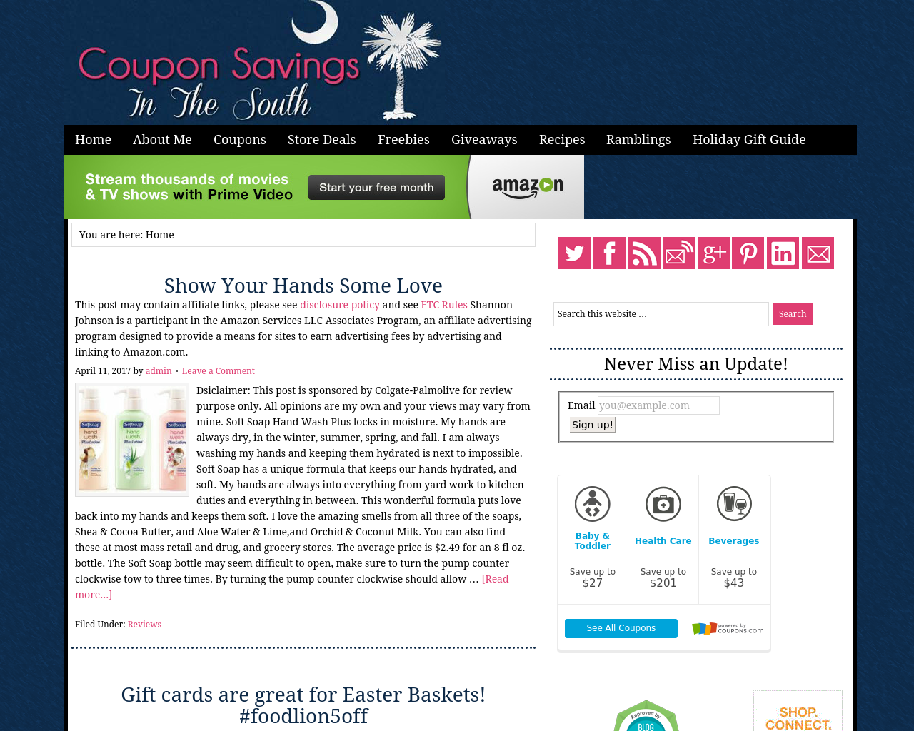 Coupon-Savings-in-the-South-Advertising-Reviews-Pricing