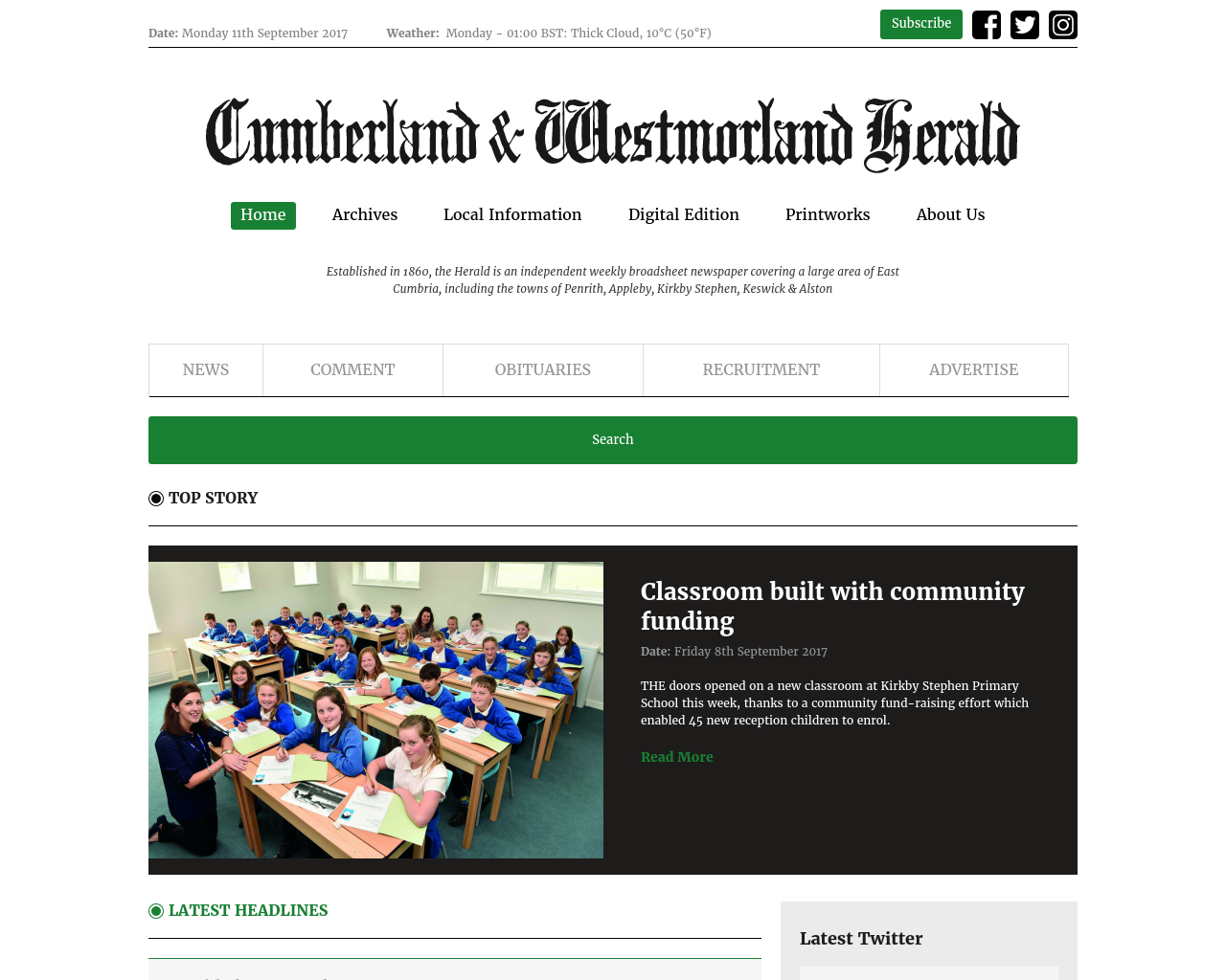 The-Cumberland-And-Westmorland-Herald-Advertising-Reviews-Pricing