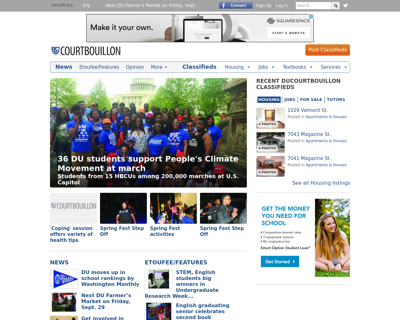 Dillard-University-Ducourtbouillon-Advertising-Reviews-Pricing