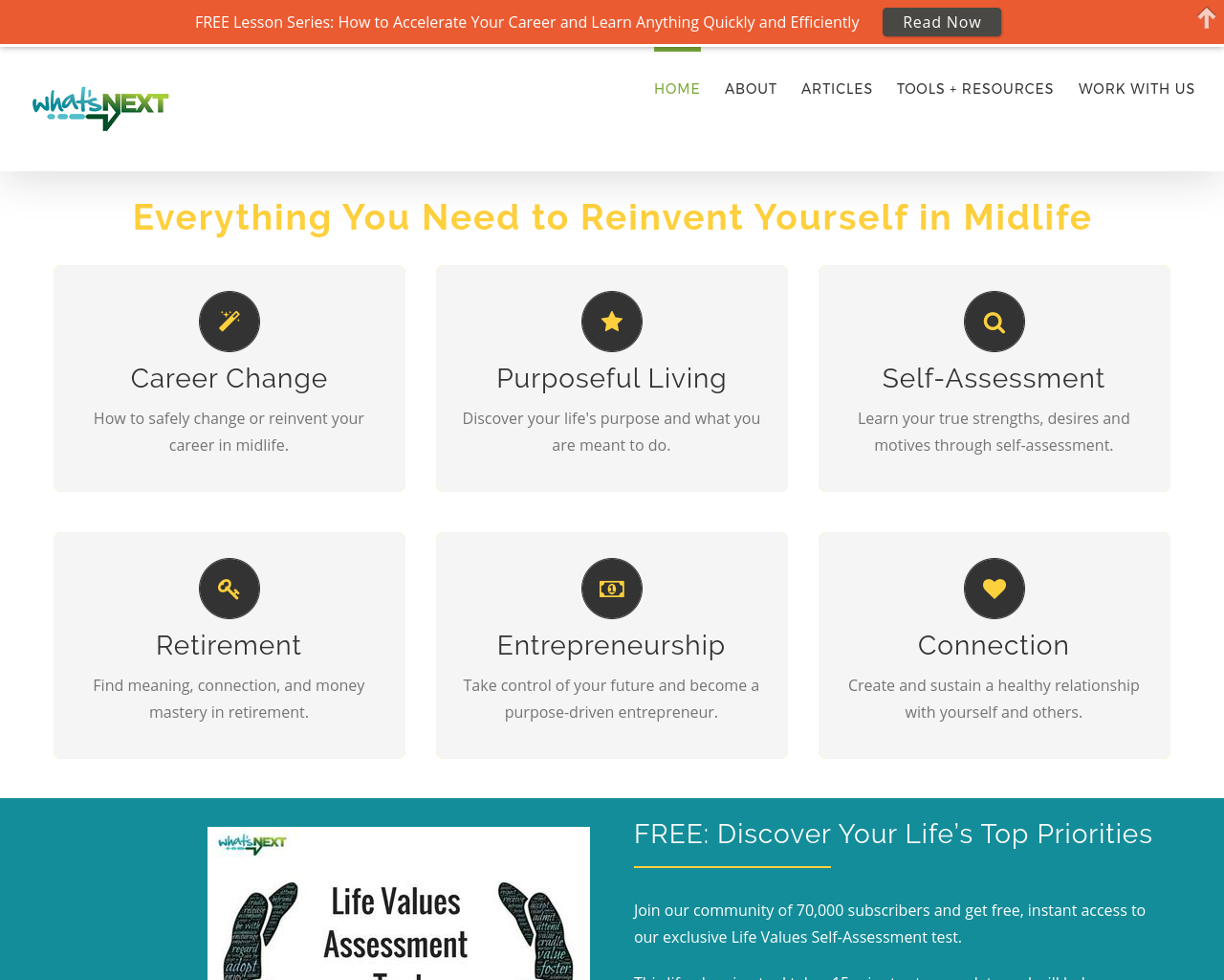 What's-Next-|-Create-the-life-you-want-Advertising-Reviews-Pricing