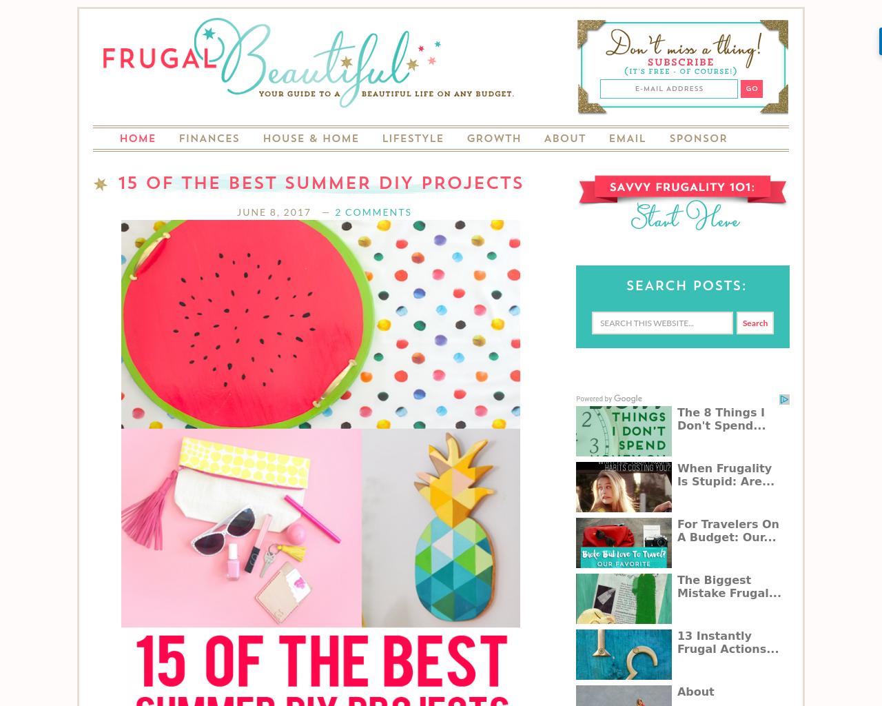 Frugal-Beautiful-Advertising-Reviews-Pricing