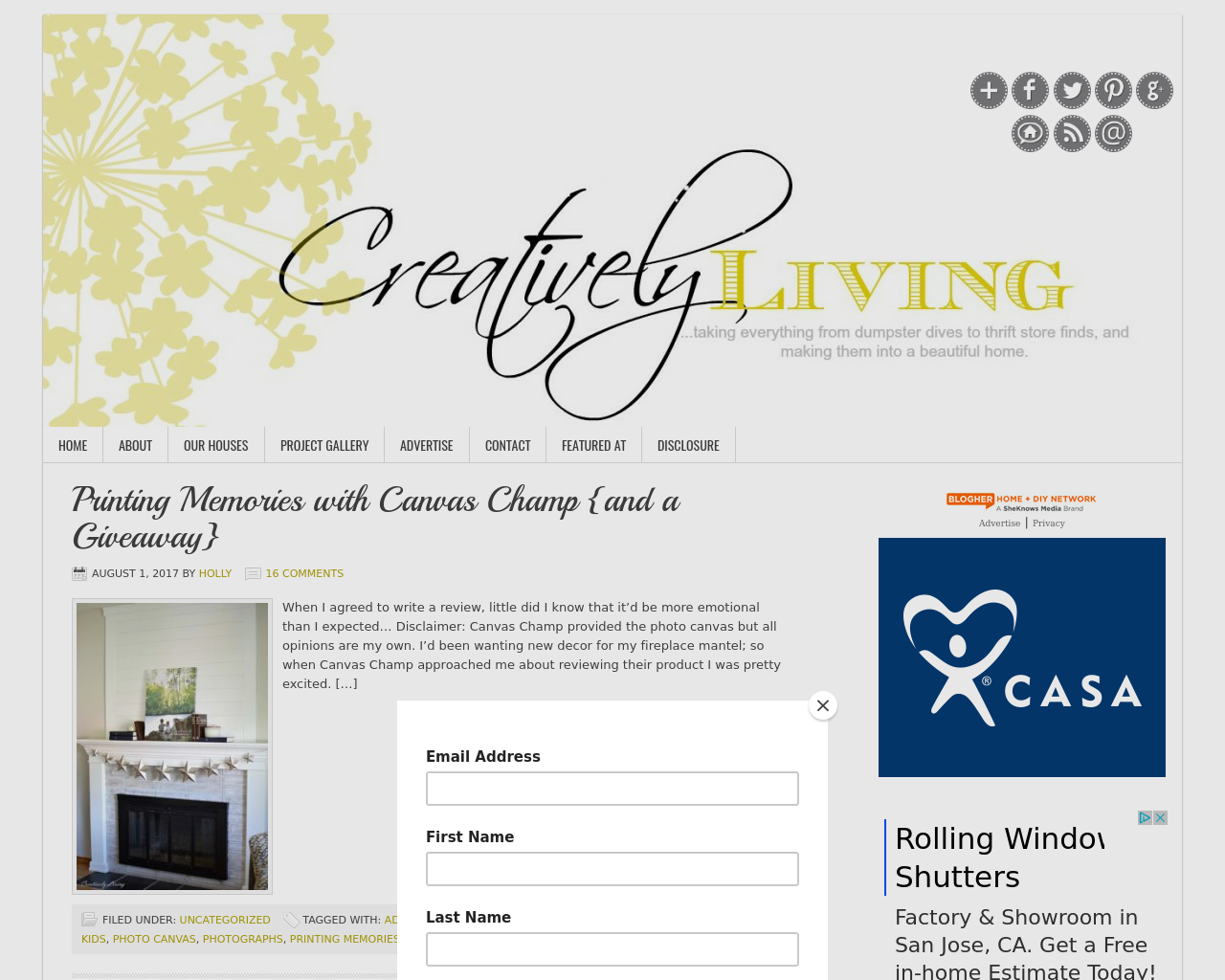 Creatively-Living-Blog-Advertising-Reviews-Pricing