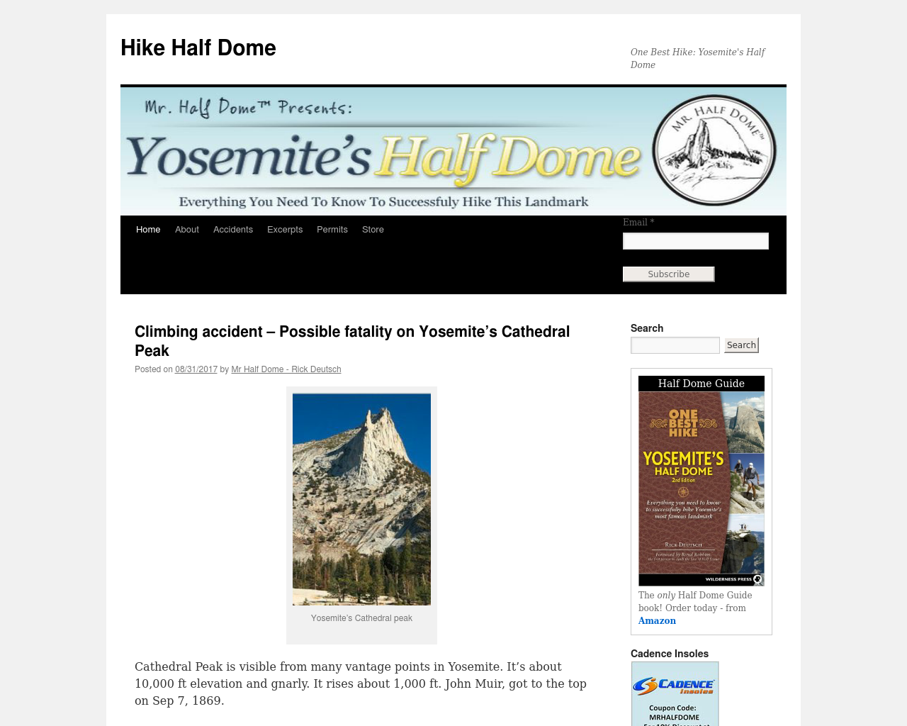 Hike-Half-Dome-Advertising-Reviews-Pricing