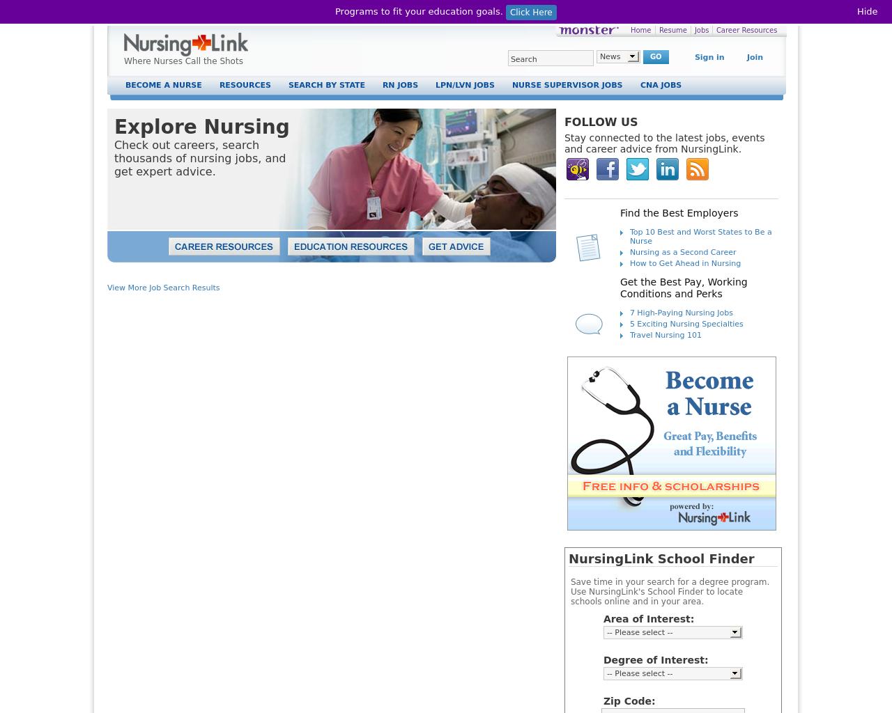 Nursing-Link-Advertising-Reviews-Pricing