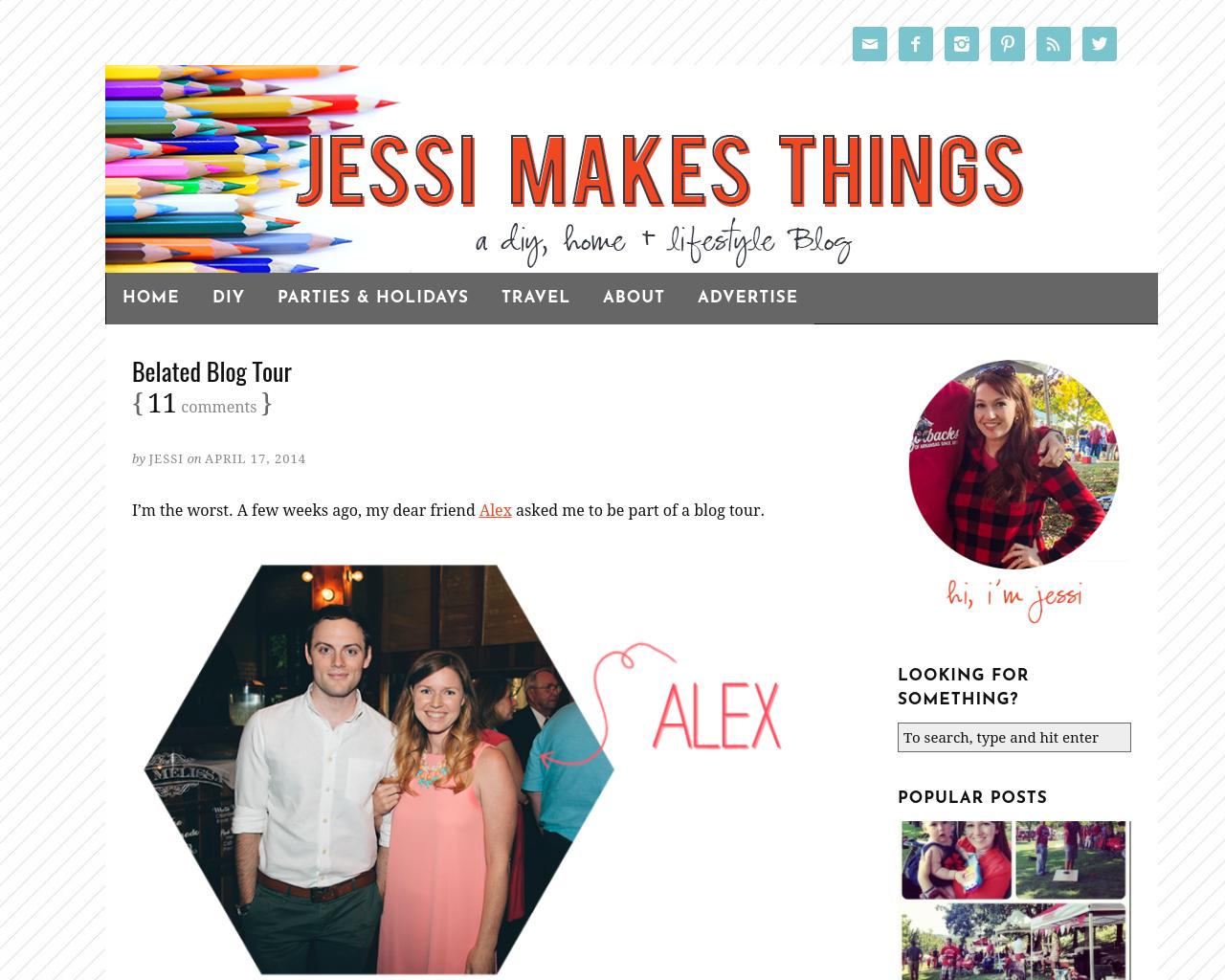 JessiMakesThings.com-Advertising-Reviews-Pricing
