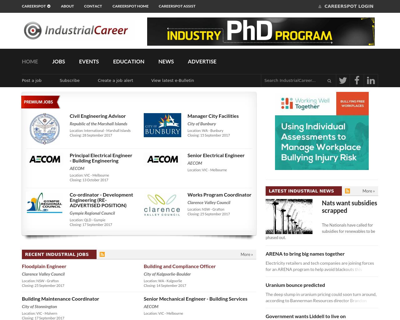IndustrialCareer-Advertising-Reviews-Pricing