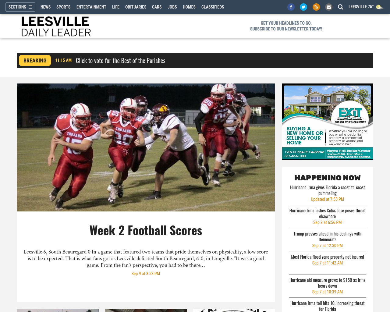 Leesville-Daily-Leader-Advertising-Reviews-Pricing