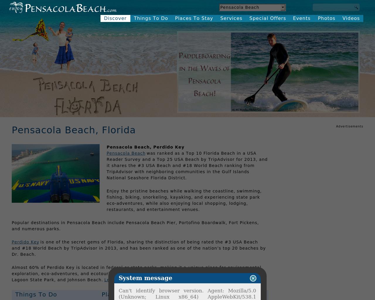 enjoyPensacolaBeachFL.com-Advertising-Reviews-Pricing