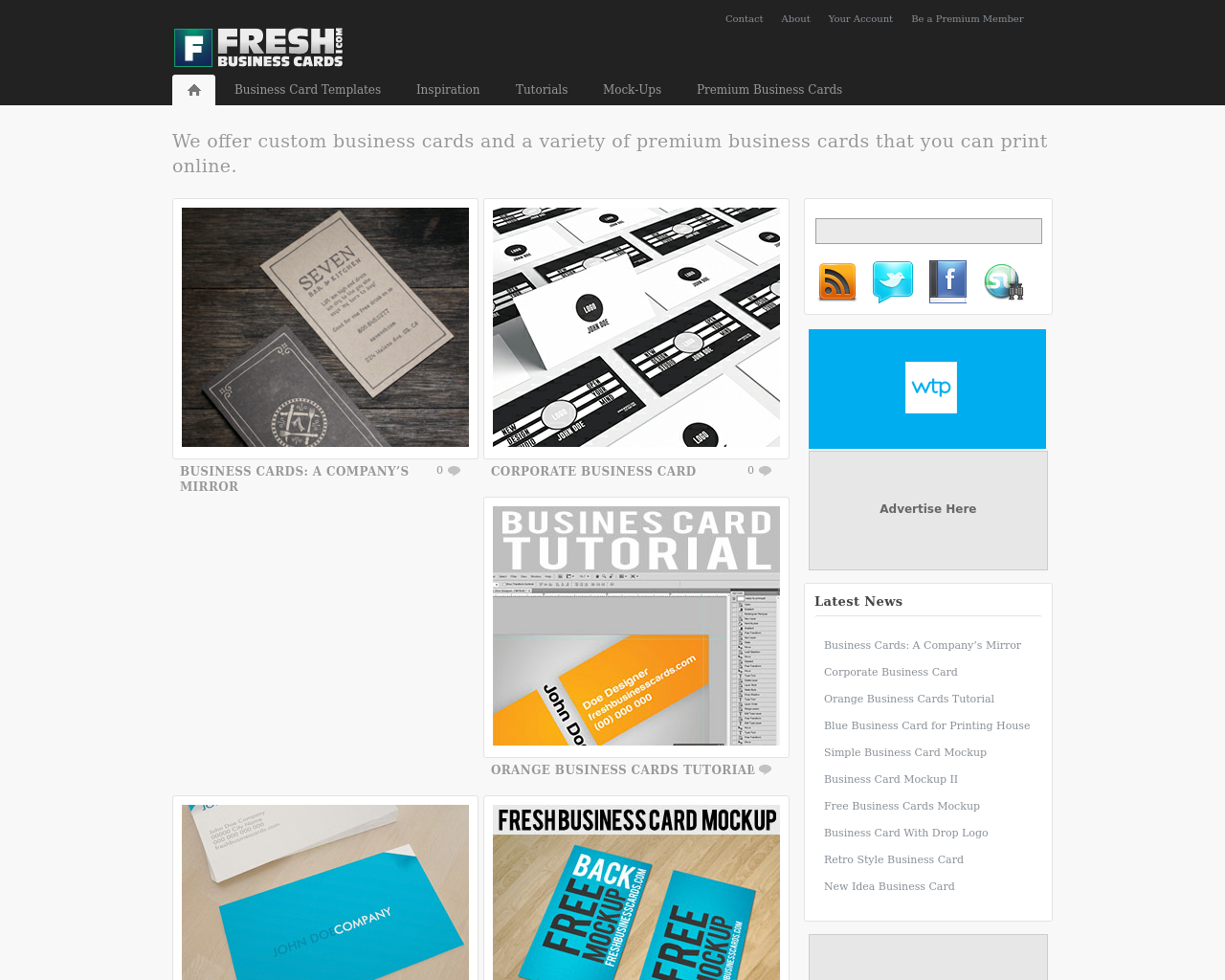 Fresh-Business-Cards-Advertising-Reviews-Pricing