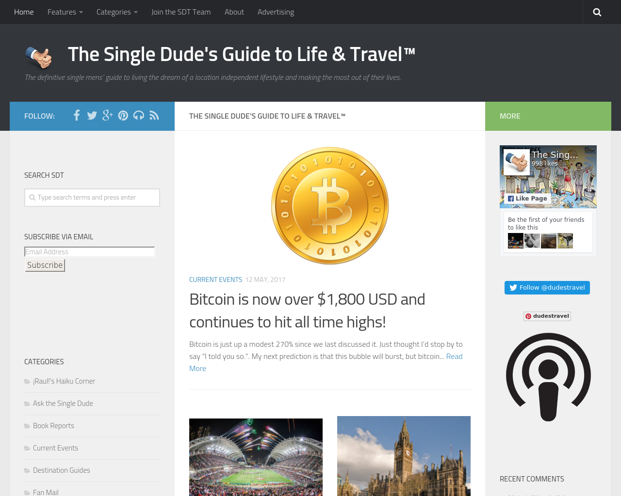 The-Single-Dude`s-Guide-to-Life-&-Travel-Advertising-Reviews-Pricing