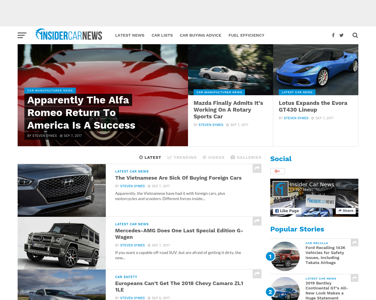 Insider-Car-News-Advertising-Reviews-Pricing
