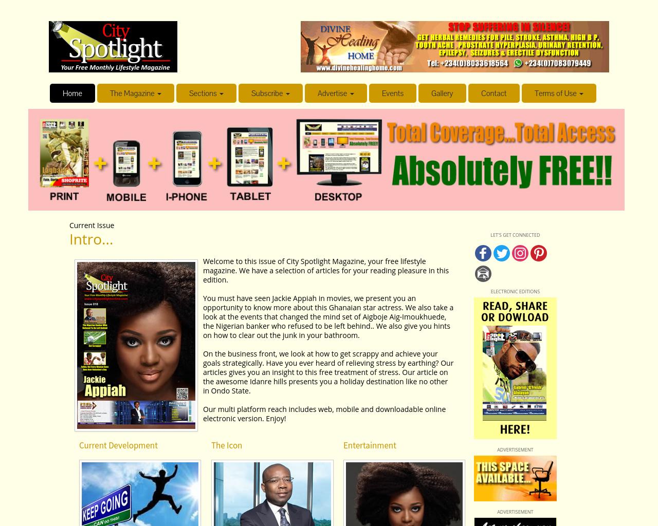 CitySpotlightMagazine-Advertising-Reviews-Pricing