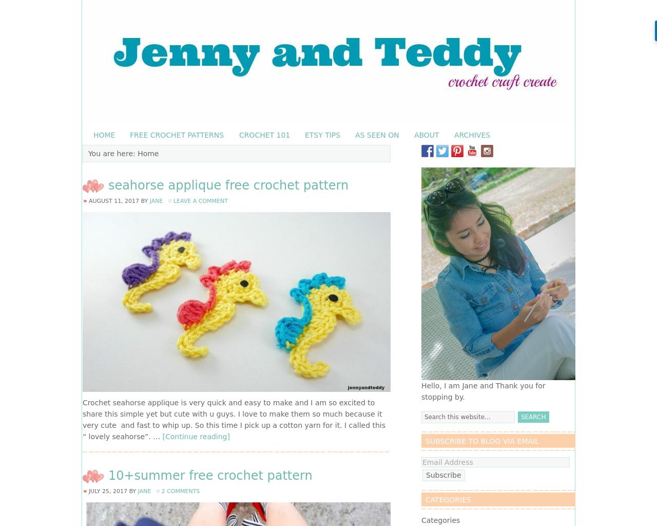 Jennyandteddy-Craft-Blog-Advertising-Reviews-Pricing