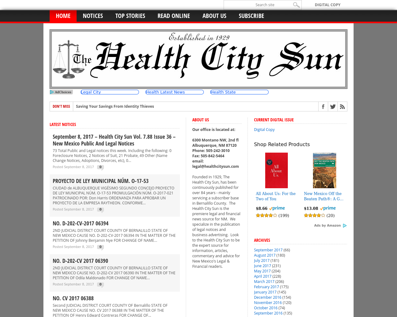The-Health-City-Sun-Advertising-Reviews-Pricing