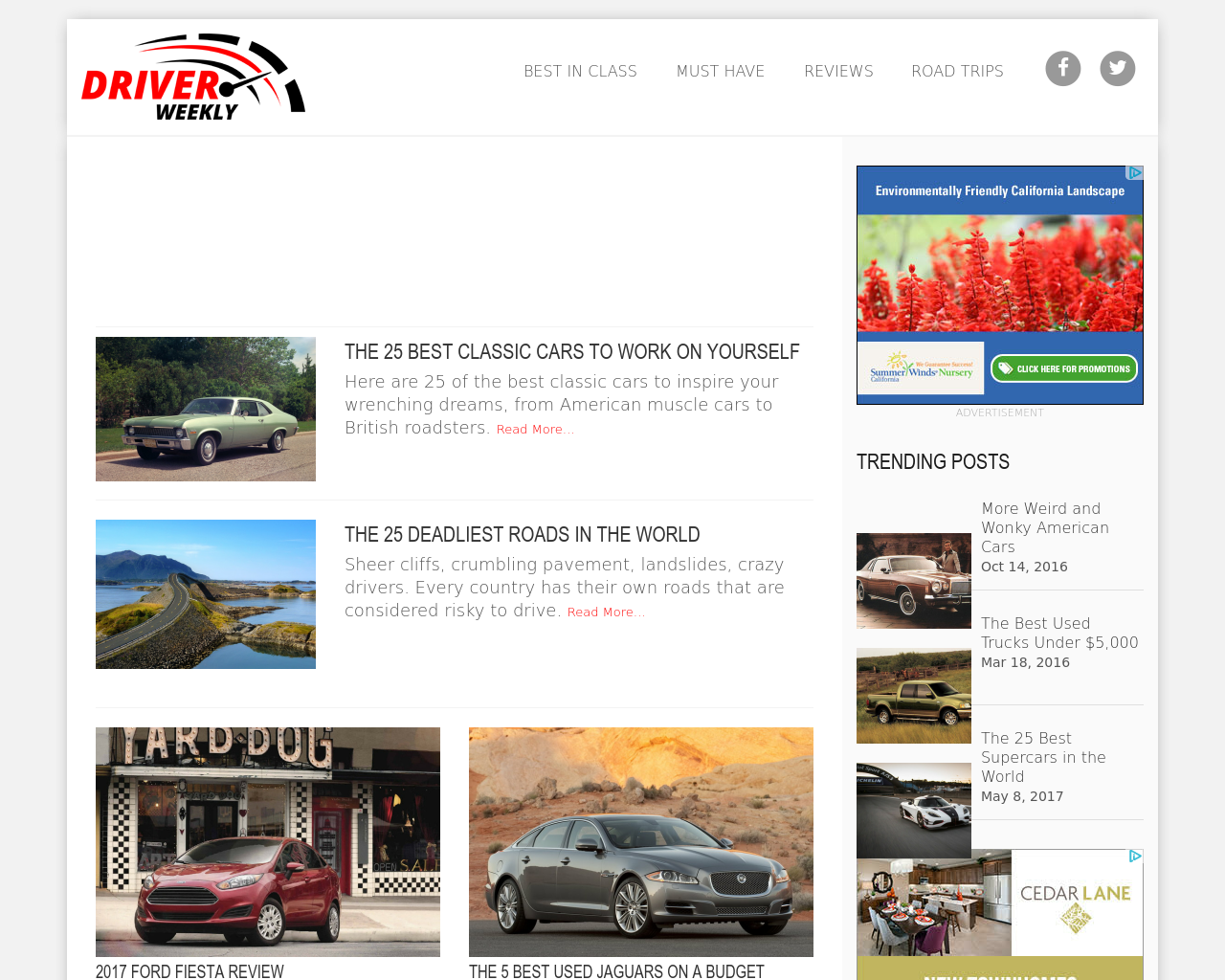 DRIVER-WEEKLY-Advertising-Reviews-Pricing