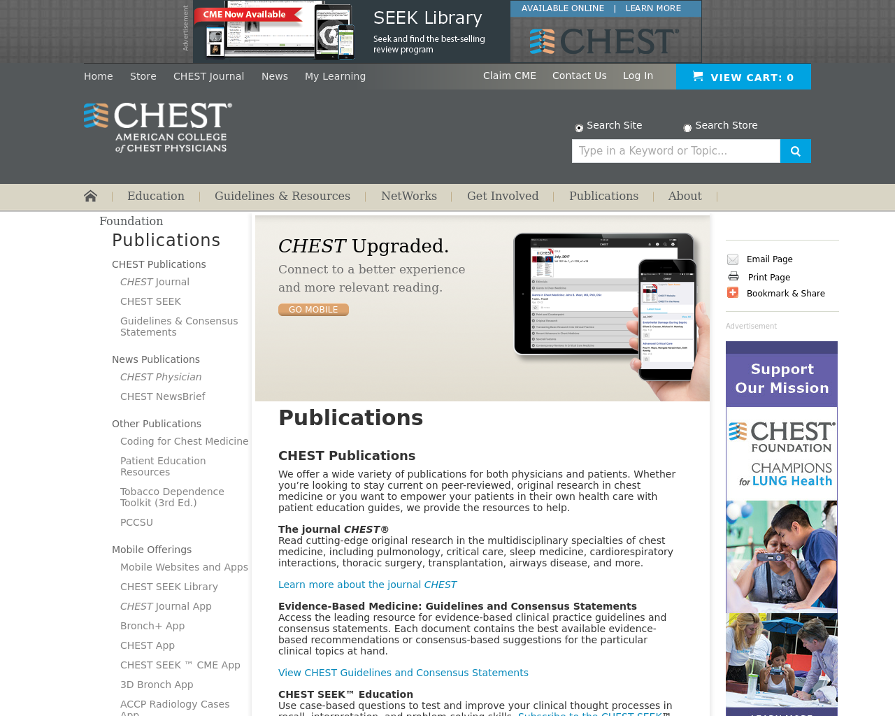 Chest-Publications-Advertising-Reviews-Pricing
