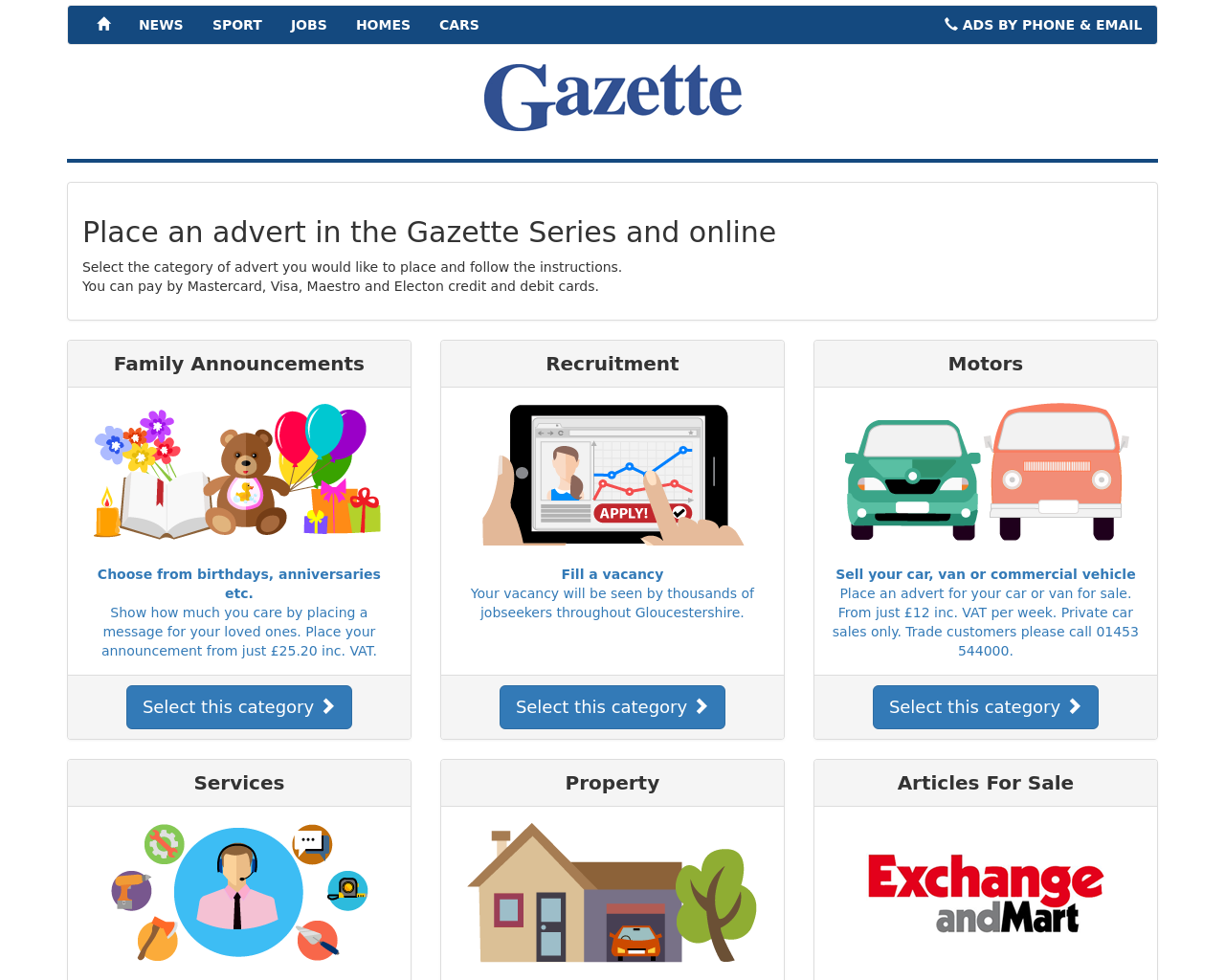 Gazette-Series-Advertising-Reviews-Pricing