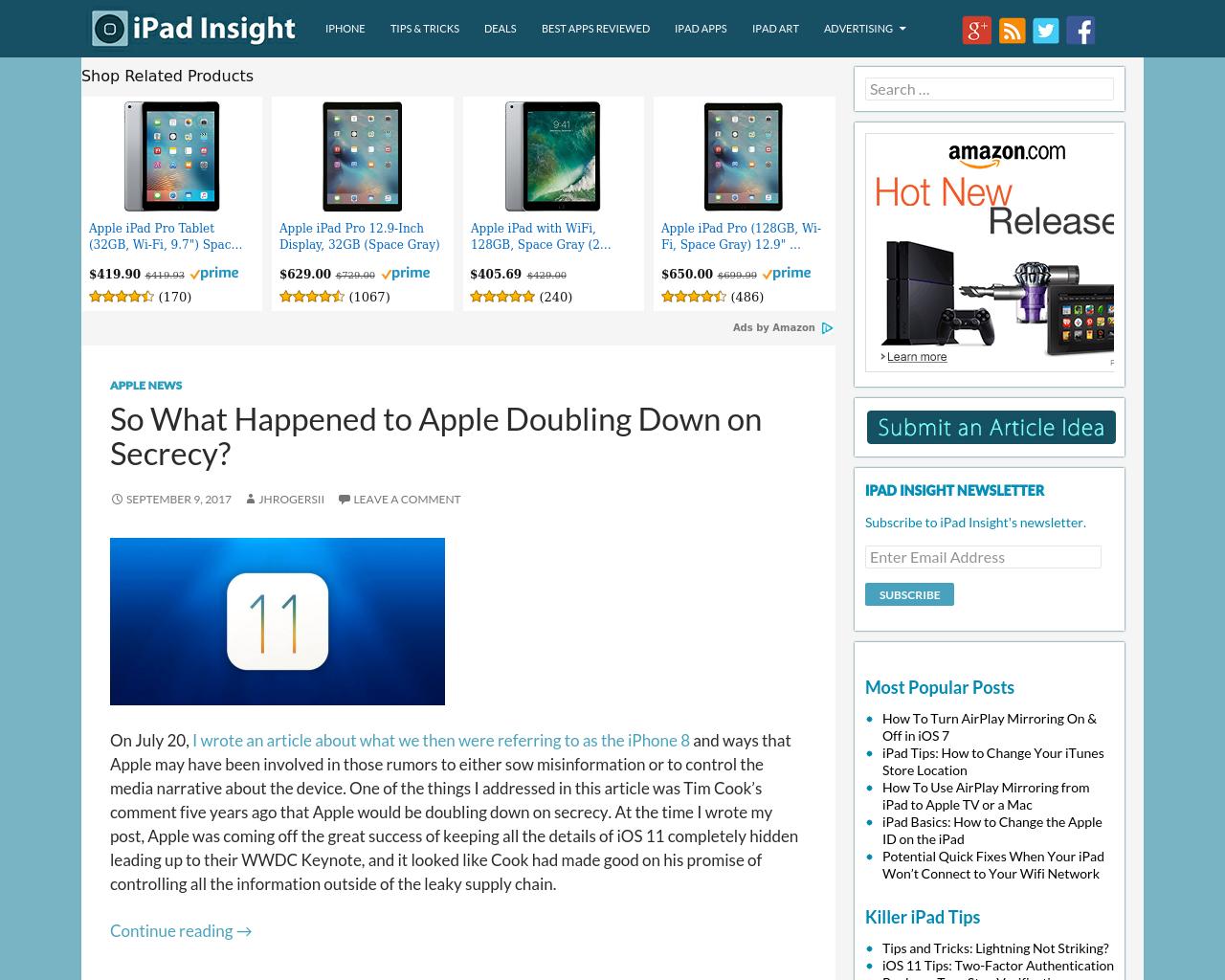 IPad-Insight-Advertising-Reviews-Pricing