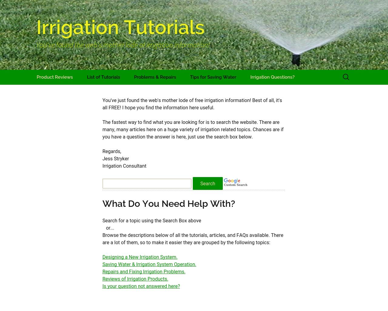 Irrigation-Tutorials-Advertising-Reviews-Pricing